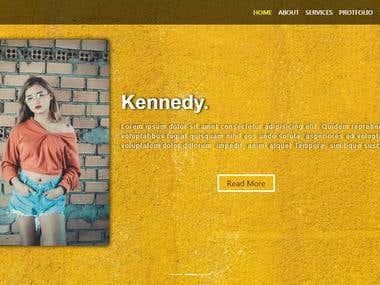 website-Header-section