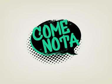 Logo para Comenota.