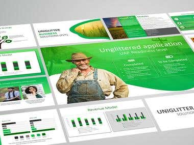 Green theme presentation