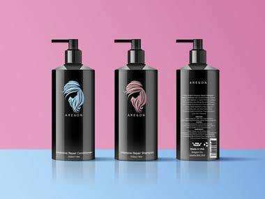 Shampoo Bottle Design