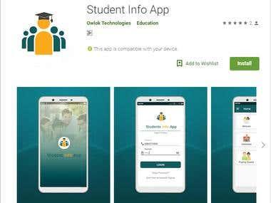 Student Info App