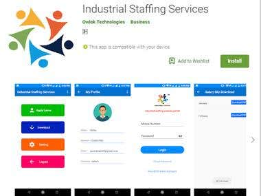 Industrial Staffing Services