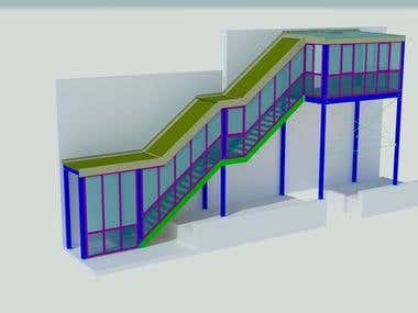 Shop Drawing- Stairs & Railing