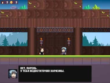 2D Plafromer Game