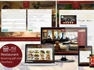 Online Restaurant - Booking, Gift and Vouchers