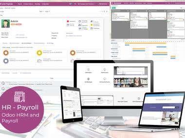 Odoo - HR & PayRoll Managment