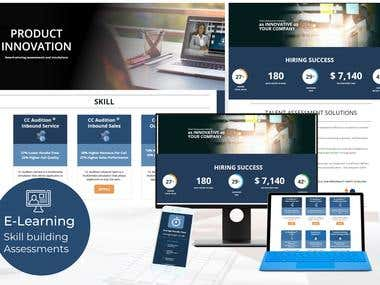 Elearning - Skill building and Assessment