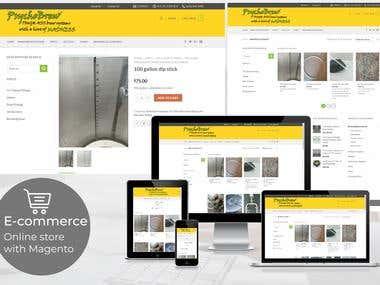Magento - Online store