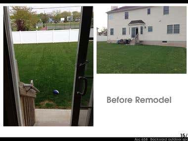Backyard, Landscape / Location: Piscataway, New Jersey, US