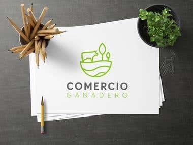 """Diseño de logotipo para """"Comercio Ganadero"""""""