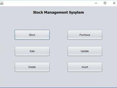 Mobile Phones Stock Management System