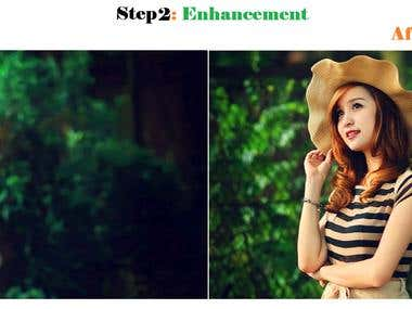 Step 2: Enhancement