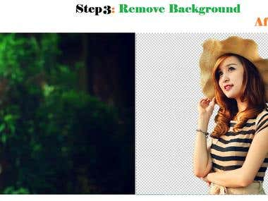 Step 3: Remove Background