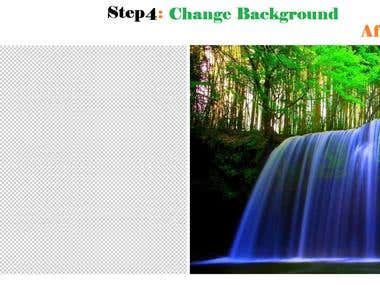 Step 4: Change Background