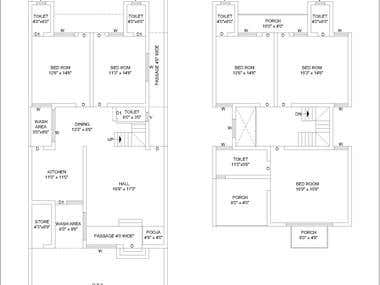 Residential Project Floor Plan
