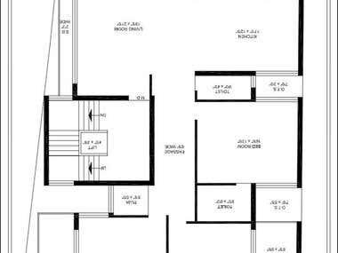 Low rise residential floor plan