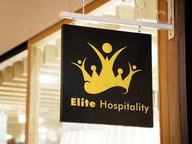 Elite hospitality logo modification