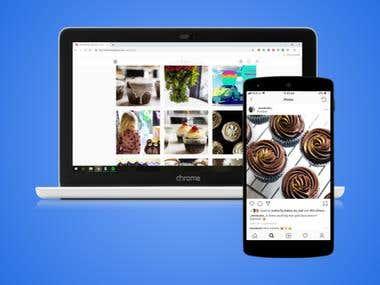 Cupcake sole trader - Social Media Management (2018)