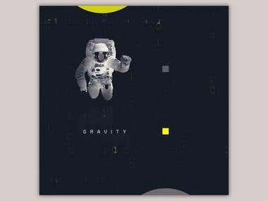 Gravity Poster Design