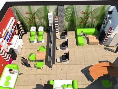 Modern Salon Design