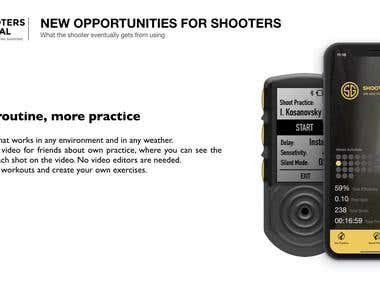 """Shooters Global Project"" Product design and prototyping"
