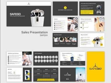 Sales presentation SAFEGO