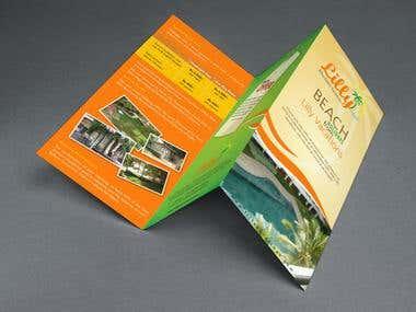 Trifold Brochure - Hotel