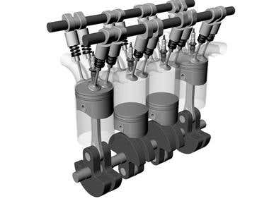 4-cycle-automobile-engine