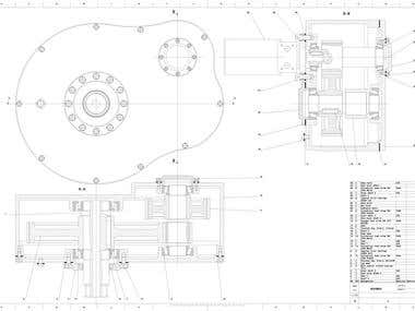 Drilling rig gearbox
