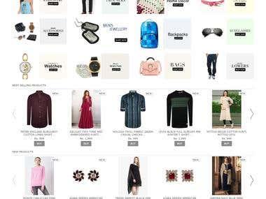 E-commerce, Online shopping websites