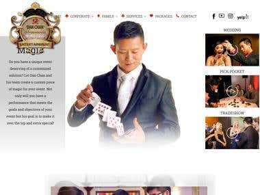 Website Design and Development for DanChan