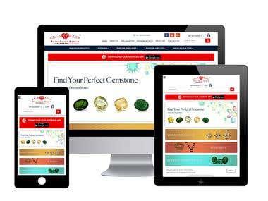 E-Commerce Jewelry, Ratan Web site