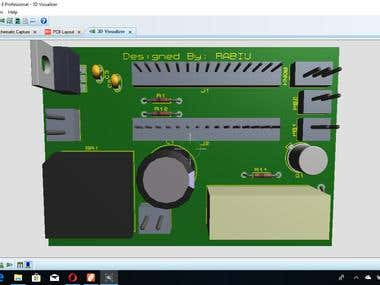 PCB Design an automatic Switch