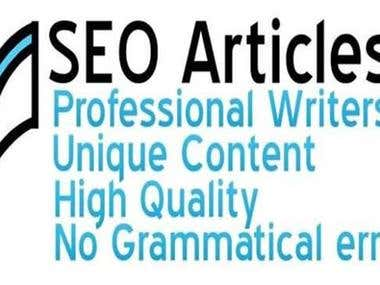 seo articles written