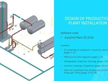 AutoCAD Plant 3D: Production Installation
