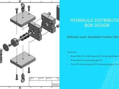 Autodesk Inventor: Hydraulic Box