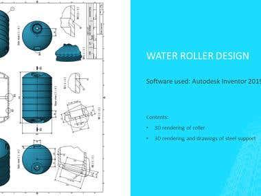 Autodesk Inventor: Roller