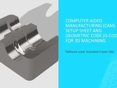 Fusion 360 : Sheet setup and G-code for CAM manufacturing