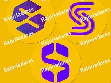 simple S logo design
