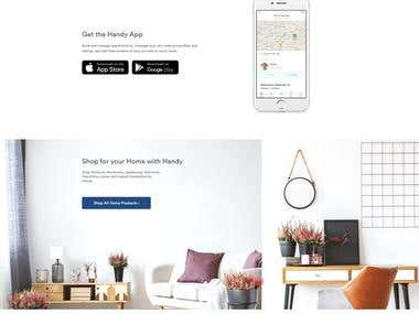 Build a new web site template && Template Page Responsive