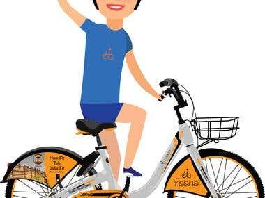Bicyle Illustration