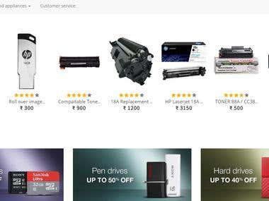 E-commerce website multi-vendor