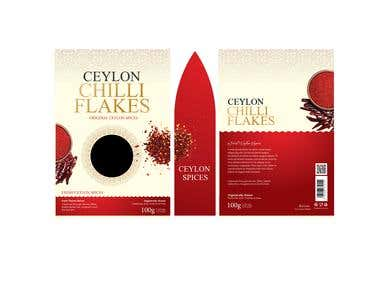 Ceylon Spices Packaging