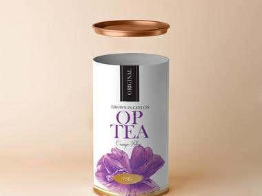 Ceylon Tea Packaging