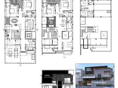 Planning and Exterior designing