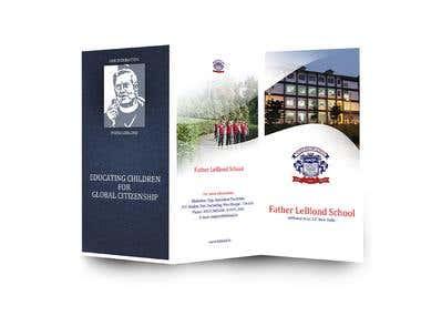 Brochure for Father LeBlond School