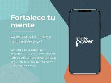 App UI/UX restyling