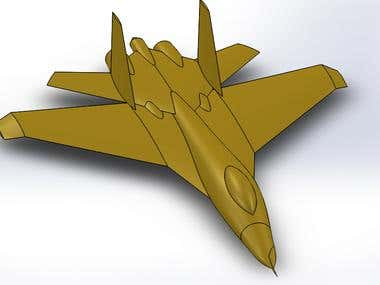 Airplane 3D Modelling
