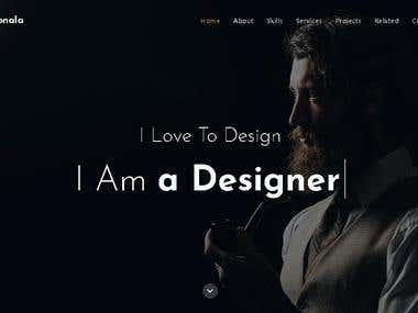 A Personal Portfolio Website