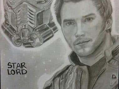 Retrato de Star Lord